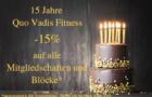 15 Jahre Quo Vadis Fitness